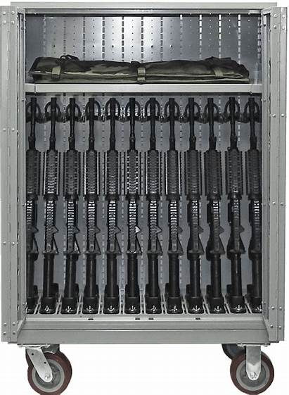 M4 Weapon Rack Nsn Rifle Storage Cabinet