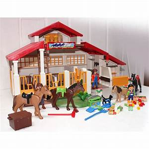 ecurie playmobil trendyyycom With photo de plan de maison 8 notice de montage playmobil 5167 maison transportable
