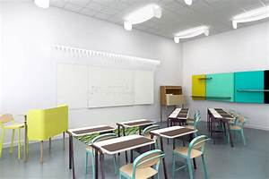 studio brichetziegler + students re-design school furniture