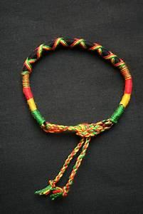 bracelet bresilien rasta reggae 16cm unitaire