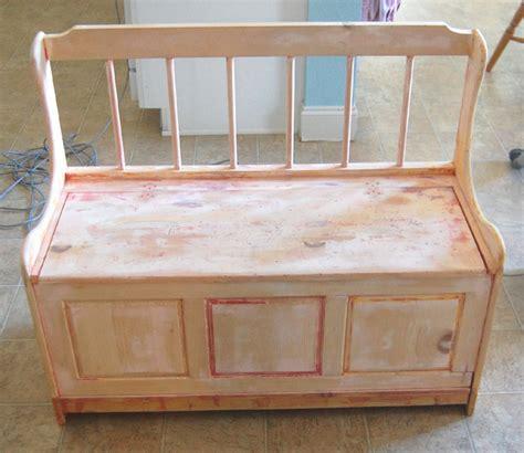 Chest Bench Plans remodelaholic box bench make
