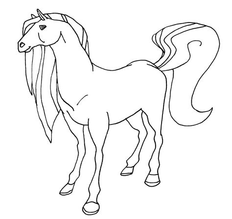 printable horseland coloring pages  kids