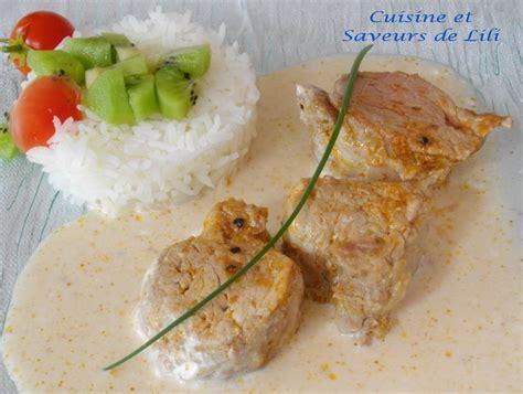 citronnelle cuisine filet mignon de porc sauce à la noix de coco cuisine et