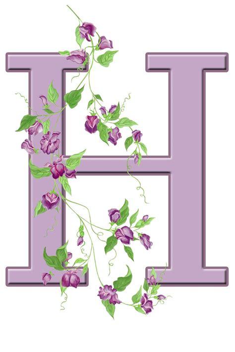 buchstabe letter  blumen flowers lettering floral initial alphabet