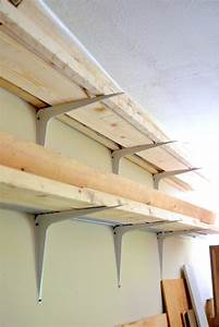 Cheap and Easy DIY Lumber Rack • Ugly Duckling House