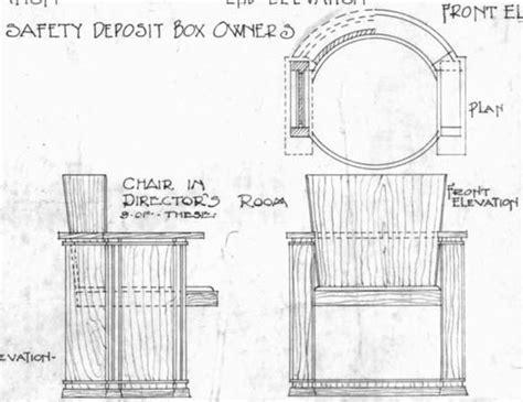 contemporary furniture plans frank lloyd wright barrel