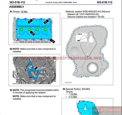 auto repair manuals ford ranger  workshop manual