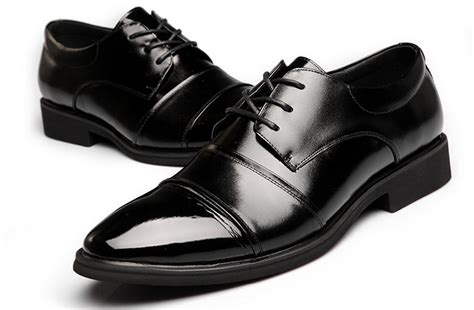 fashion mens wedding shoes mens pointed design