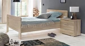 Betten Für Senioren : komforth he einzelbett f r senioren eiche nachbildung sinello ~ Orissabook.com Haus und Dekorationen