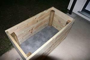 Bac Rectangulaire Pour Bambou : fabrication du pot pour le futur bambou notre maison ~ Nature-et-papiers.com Idées de Décoration