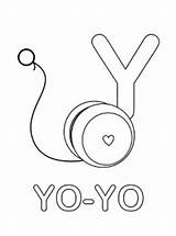 Coloring Alphabet Printable Yo Letter Preschool Spanish Worksheets Mrprintables Yoyo Safety Kitchen Sheets Letters Kindergarten Template Abc Crafts Quiz Learning sketch template