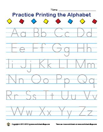 44 alphabet worksheets pdf tracing uppercase letters