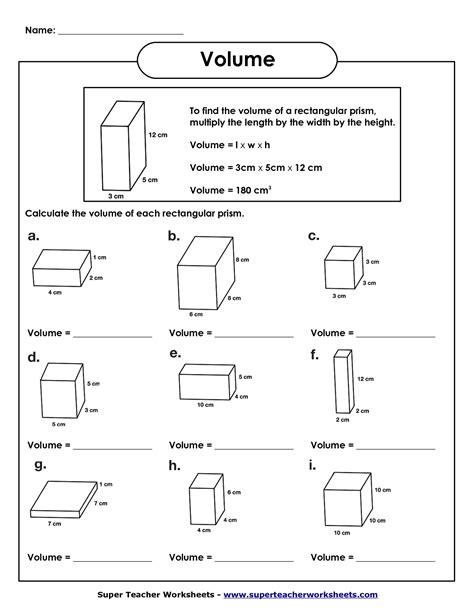 5th Grade Math Volume Worksheets  Kids Study  Volume  Pinterest  Kids Study, Worksheets And Math