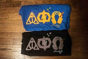 jlcwestminnie13 sorority life pinterest harry With harry potter greek letter shirts