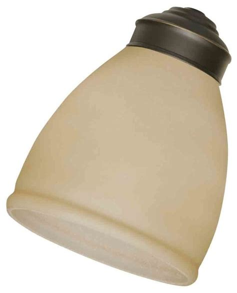 Hampton Bay Lamp Shades by Emerson Fans G56 Amber Scavo Replacement Glass