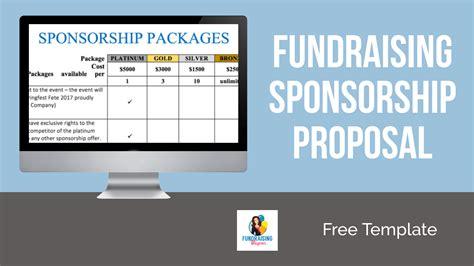 fundraising sponsorship proposal template