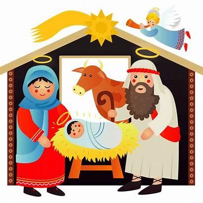 Nativity Scene Clipart Transparent Clip Silhouette Manger