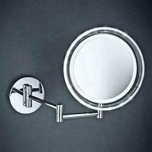 Kosmetikspiegel 5 Fach : led wand und kosmetikspiegel mit 5 fach vergr erung ~ Watch28wear.com Haus und Dekorationen