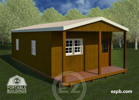 The Patriot   EZ Portable Buildings