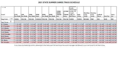 The latest news and updates from tokyo. 2021 Summer Games track schedule - Special Olympics Missouri
