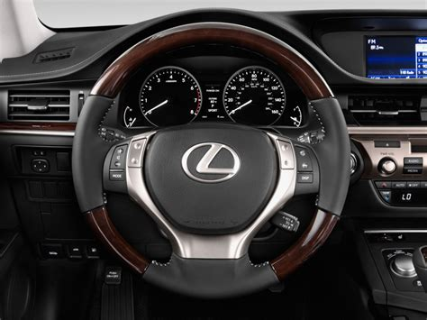 lexus steering wheel image 2014 lexus es 350 4 door sedan steering wheel size