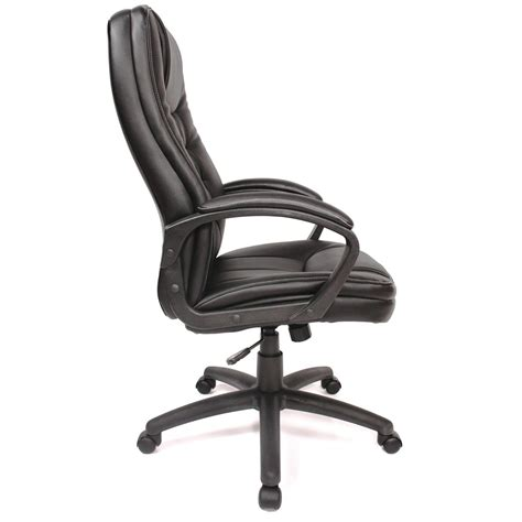 comfort products soft touch high back leather office chair