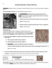 Natural selection and artificial selection both involve an organism's traits being determined by how much they're favored. Student Exploration Natural Selection Answer Key Activity A + My PDF Collection 2021
