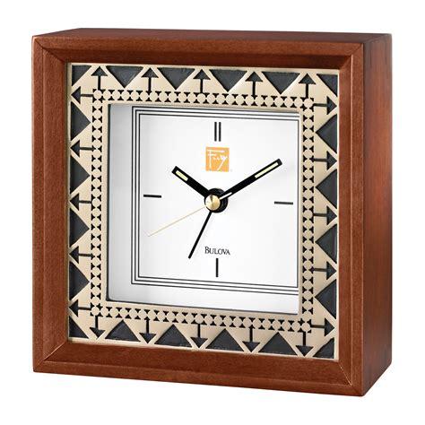 bulova frank lloyd wright clock frank lloyd wright beth sholom alarm clock by bulova 7994