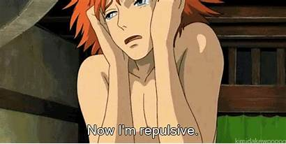 Howl Anime Miyazaki Moving Castle Reaction Ghibli