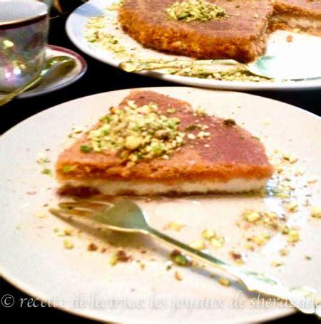 recette de cuisine libanaise avec photo knafeh patisserie libanaise les joyaux de sherazade