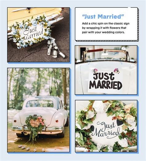 the 16 best wedding car decoration ideas the zebra