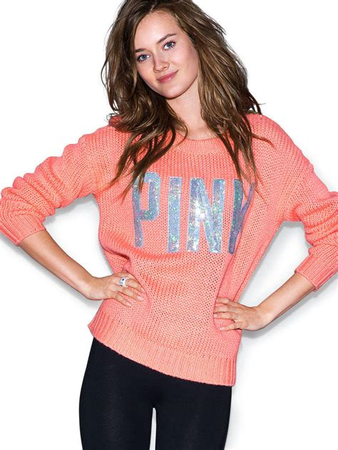 secret sweaters pink cozy sweater pink 39 s secret from vs pink