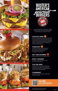 Dave and Busters Menu Prices