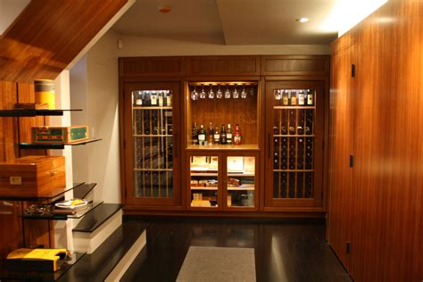 Refrigerated Wine Cabinet Furniture by 187 Small Wine Rooms And Wine Closets