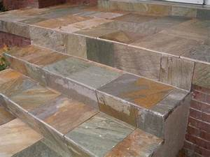 how to tile over concrete steps gardening great With how to tile a floor over concrete