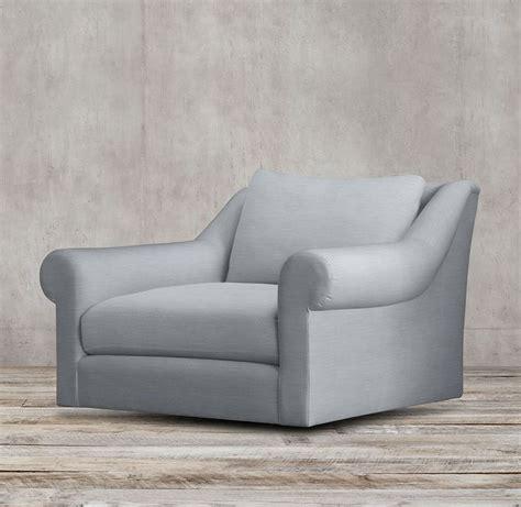 belgian roll arm upholstered swivel chair restoration