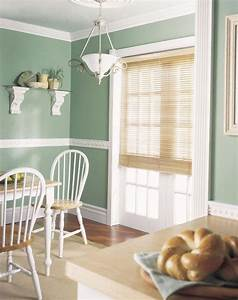 Tapeten Im Landhausstil : pastellgr ne wandfarbe und stuckleisten im landhausstil home decor pinterest haus stuck ~ Markanthonyermac.com Haus und Dekorationen