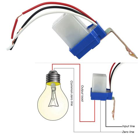 Auto Off Photocell Day Night Sensor Light Switch