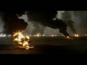 Burning Oil Field Avi