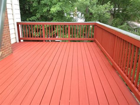 Restaining A Deck With Solid Stain by Deck Staining Services In Virginia Maryland And