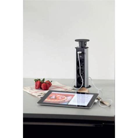 prise encastrable pour plan de travail cuisine prise 233 lectrique encastrable pour plan de travail ou meuble haut lumineuse electricite et