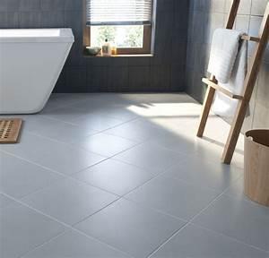 carrelage gris clair brillant With carrelage adhesif salle de bain avec tele au led