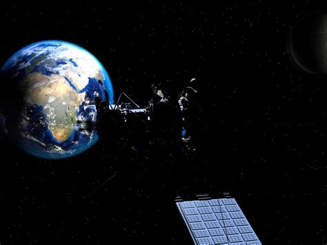 ursa space systems bringing satellites  wall street