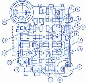 Jeep Cj7 V8 1983 Fuse Box  Block Circuit Breaker Diagram