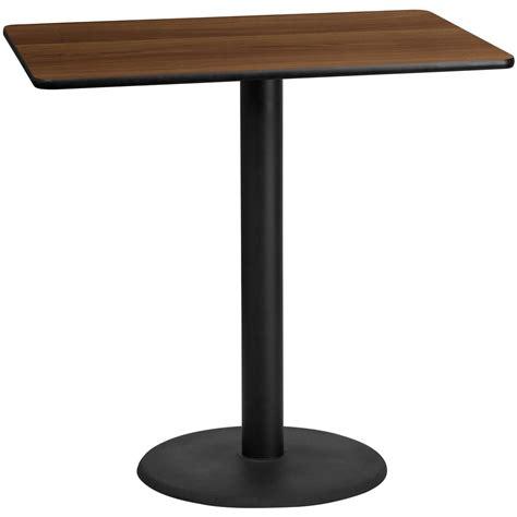 30 round table top flash furniture 30 39 39 x 48 39 39 rectangular walnut laminate