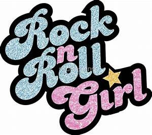 """Rock n' Roll Girl"" Stickers by ssddesigns 