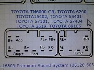 Fujitsu Ten 86140 Pinout
