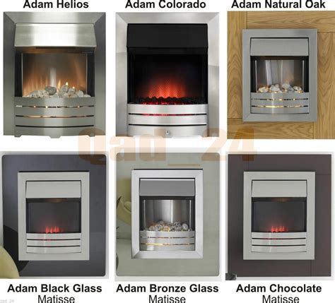 fireplace pebbles adam modern electric fireplace inset brushed steel