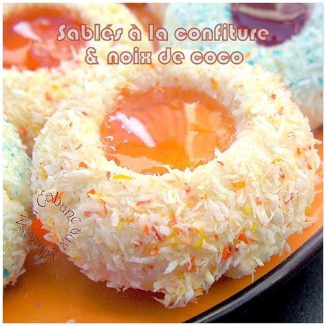 recette cuisine orientale sablés confiture et noix de coco photo 2 biscuit
