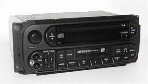 Dodge 2002 Dakota Radio Am Fm Cd Cassette Player Raz